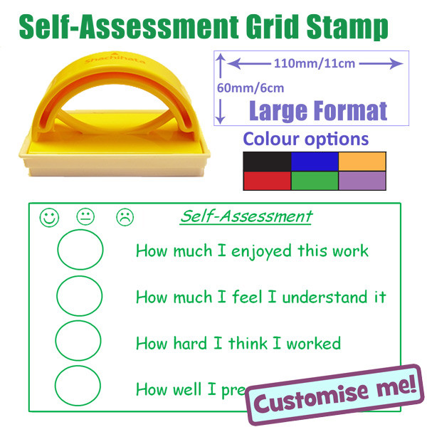 how to write a self assessment for school
