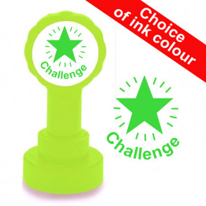 Teacher Stamp | Challenge School Stamp. Mastery Level Assessment