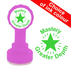 Teacher Stamp | Mastery Greater Depth School Stamp. Mastery Level Assessment