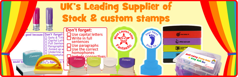 Teacher Stamps / Custom Stamps