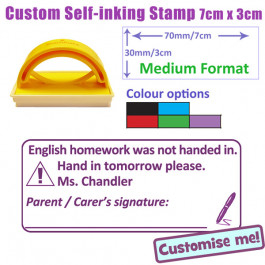 By Shape Custom Stamps