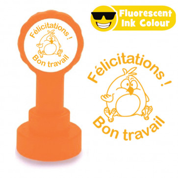 Teacher Stamps   Félicitations ! Bon Travail French Easter Design Stamps