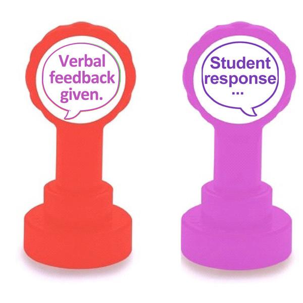 Pupil Response Teacher Self Inking Marking Stamp