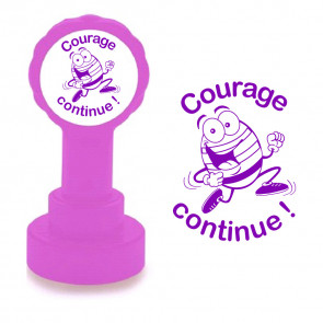 Teacher Stamps | Courage Continue French Easter Design Stamps