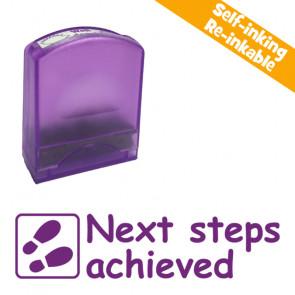 School stamps   Next steps achieved Teacher Stamp.