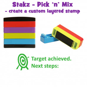 Xstamper 3-in-1 Stamps   Verbal Feedback - Big Speech Bubble