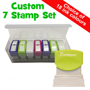 Teacher Stamps | Custom Stamps, 7 Xstamper N10 Box Set