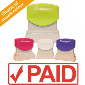 Office Stamps | Xstamper N10 Pre-inked Office Stamp - PAID