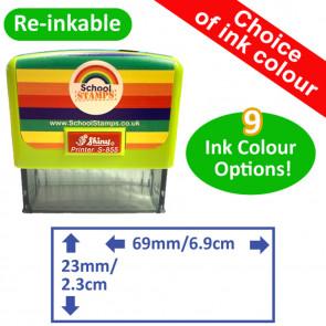 Custom Teacher Stamp | Round or Square Image - 18x18mm