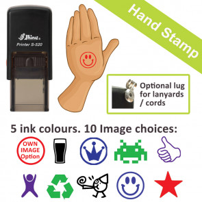 Hand Stamps | Skin Safe, Self-inking Event Re-entry, Hand Stamps