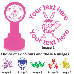 Custom Stamps   Easter Fun - Personalised Craft and Teacher Stamps