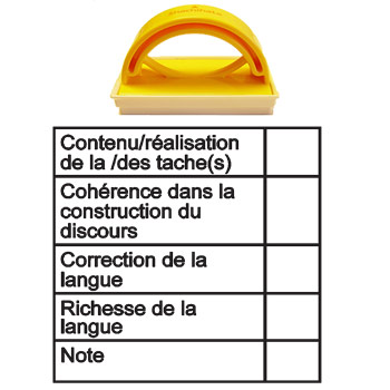 French Baccalaureate Teacher Stamps