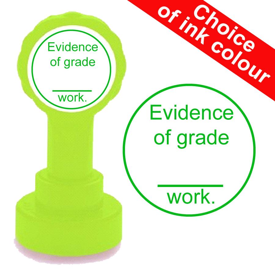 GCSE Evidence Teacher Stamp