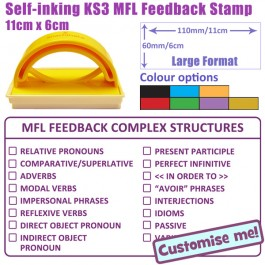 School Stamps: Streamlining Feedback For MFL