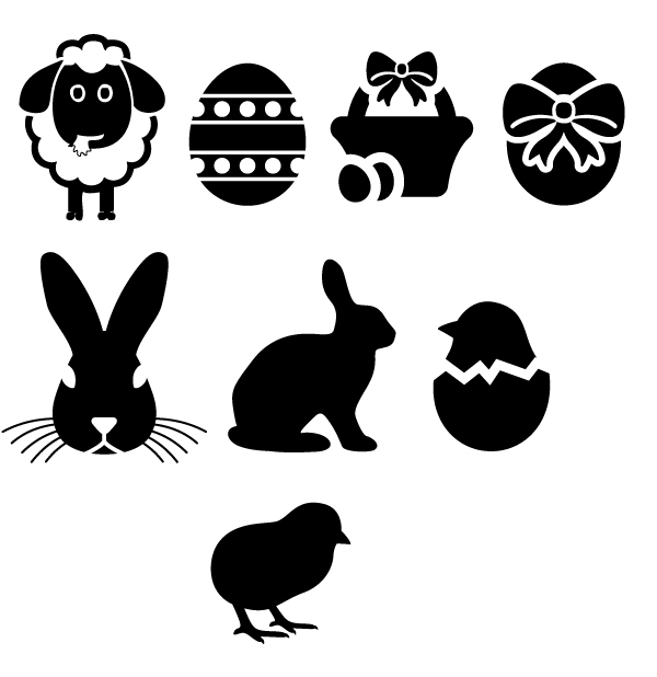 Easter Self-inking Stamp Designs