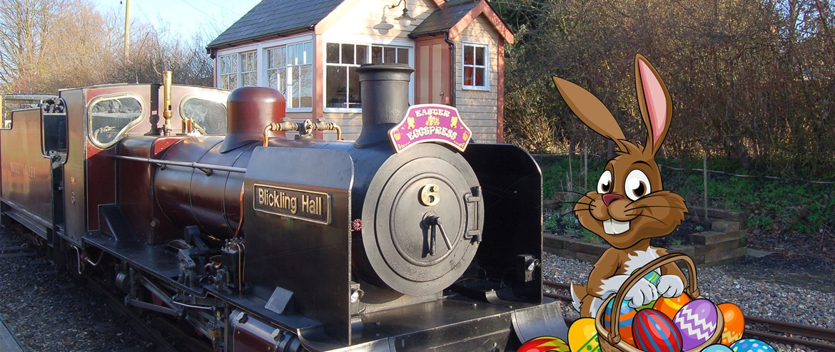 Easter Stamp Fun at the Bure Valley Railway