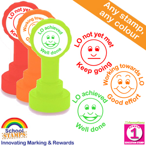 Learning Objective Teacher Stamps